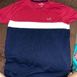 men's size xxs hollister shirt